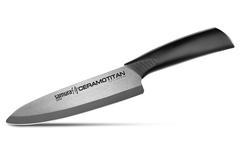 Кухонный шеф-нож Samura CERAMOTITAN 175 мм, матовый, арт. SCT-0084M