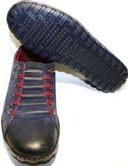 Мокасины мужские Luciano Bellini 31503. 40-й размер