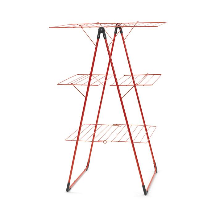 Трехъярусная напольная сушилка (23 м навески), Красный, арт. 477867 - фото 1