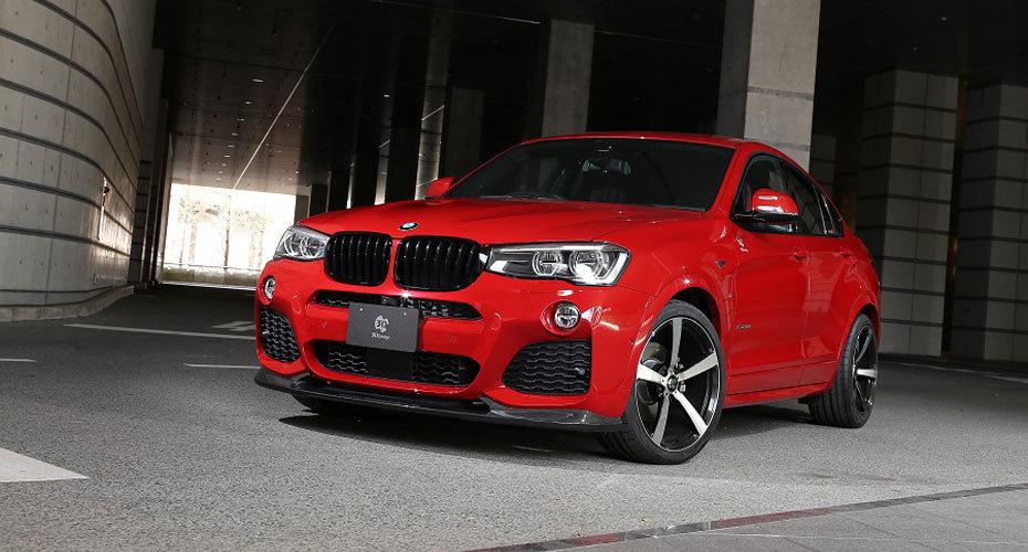 Обвес 3D Design для BMW X4 F26
