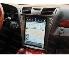 Магнитола для Lexus LS460 (2006-2012) Android 9.0 4/64GB DSP модель ZF-1303L-DSP стиль Tesla