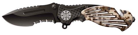 Нож Stinger, 84 мм, черный