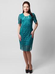 1280-1 платье зеленое