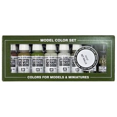 MODEL COLOR SET: BUILDING SET (8)