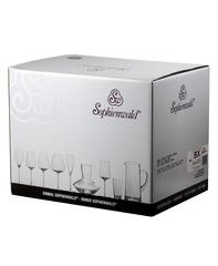 Бокалы для белого вина «Phoenix», 6 шт, 420 мл, фото 6