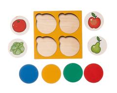 Запоминалки Овощи и фрукты, Smile decor