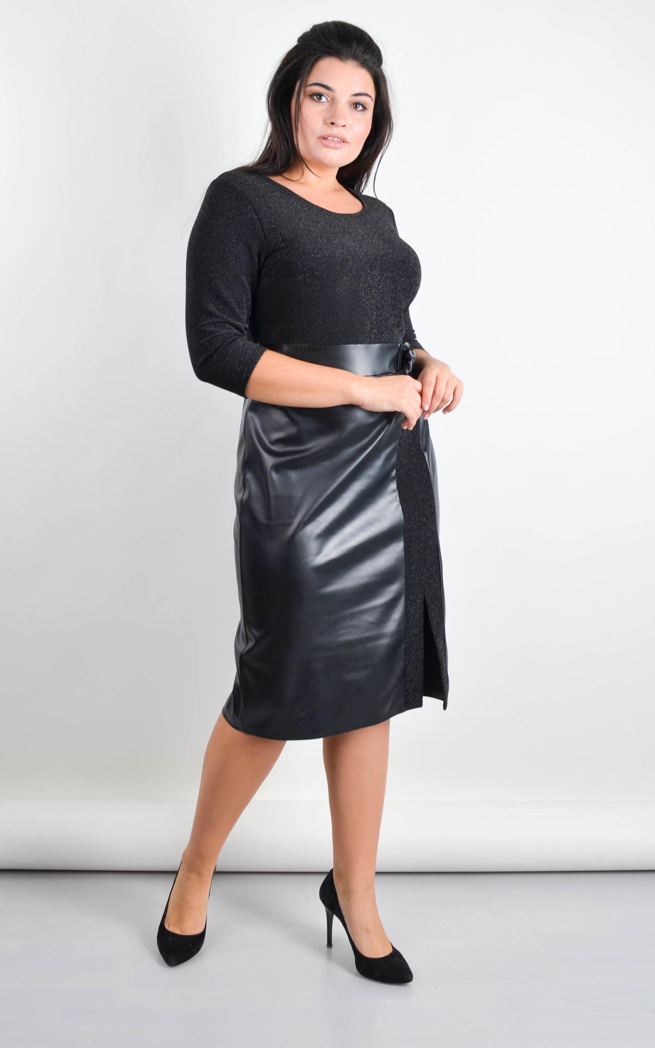Платье Лидия для праздника (черный)