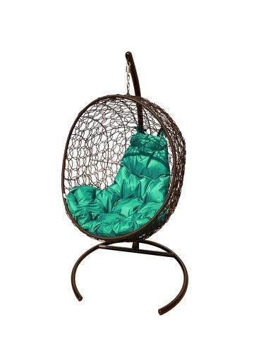 Кресло подвесное Porto brown/green