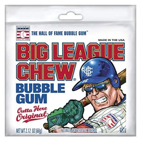 Жевательная резинка Big League Chew