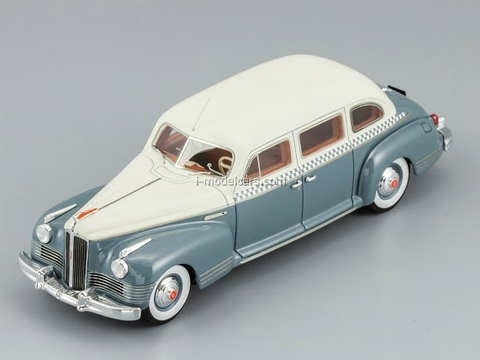 ZIS-110 Taxi 360 pcs. white-gray DIP 1:43
