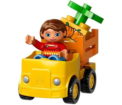 LEGO Duplo: Локомотив 10810 — Push Train — Лего Дупло