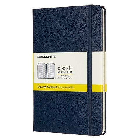 Блокнот Moleskine CLASSIC QP051B20 Medium 115x180мм 240стр. клетка твердая обложка синий