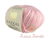 Пряжа Gazzal Baby Wool XL 836 нежно-розовый