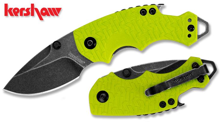 Нож KERSHAW Shuffle модель 8700LIMEBW