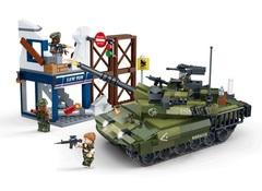 Конструктор серия Военная техника Танк