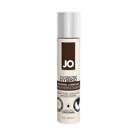 JO SILIKONE-FREE HYBRID LUBRICANT COCONUT, 30 ml Лубрикант- ГИБРИД водно-кокосовый