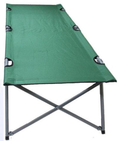 Раскладушка туристическая - походная кровать Green Glade  M6185