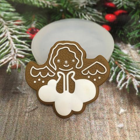 Молд « Новогоднее печенье Ангел»