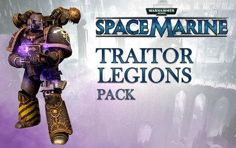 Warhammer 40,000 : Space Marine - Traitor Legions Pack DLC (для ПК, цифровой ключ)