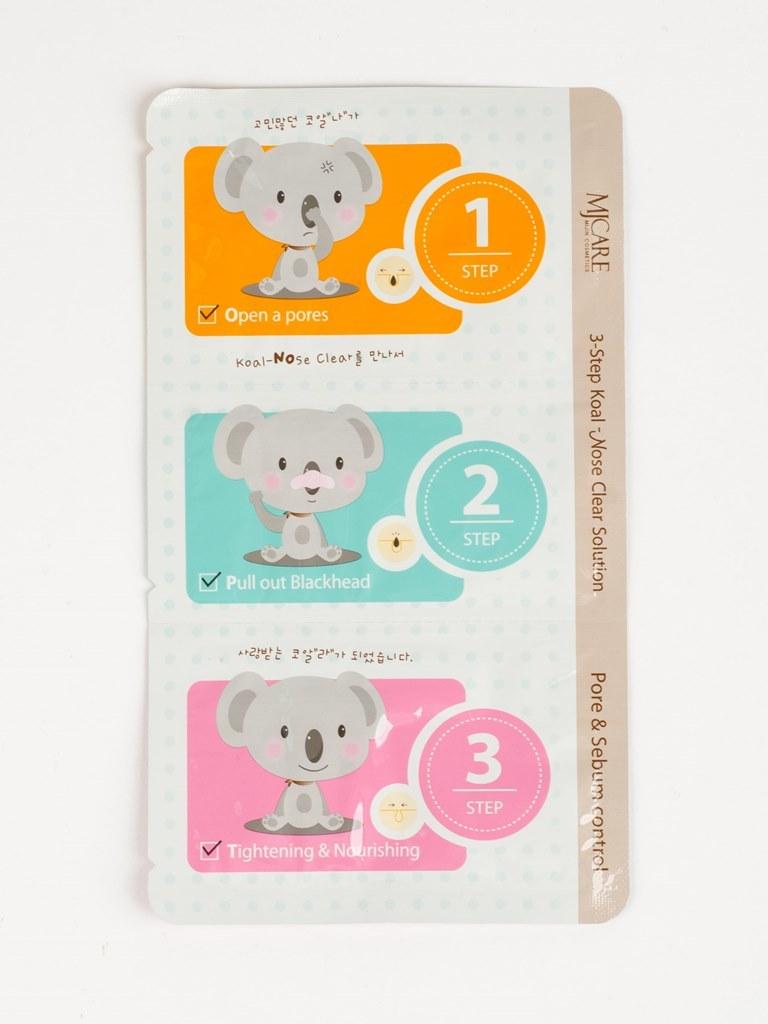 Основной уход Набор для лица от черных точек 3-Step Koala Nose Clear Solution i10761_1477575946_5.jpg