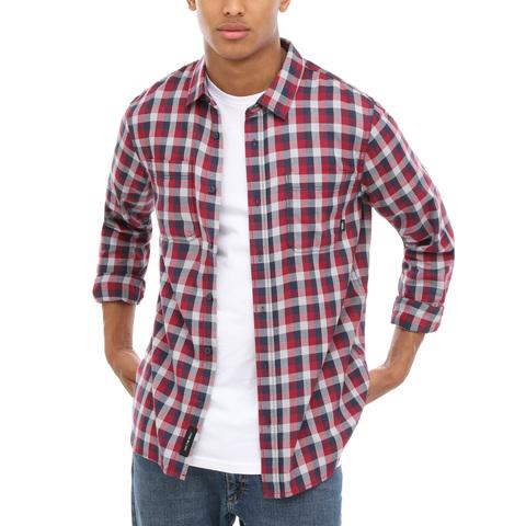 Рубашка VANS MN ALAMEDA II RHUMBA RED/D