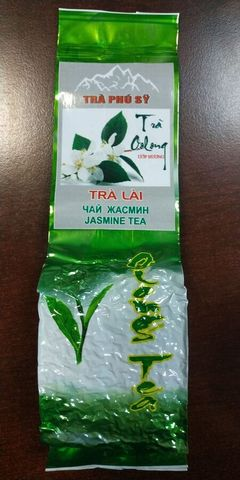 Зеленый чай Улун с жасмином