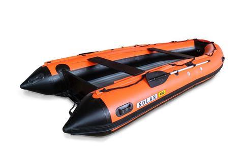 Надувная ПВХ-лодка Солар Максима - 480 К (оранжевый)