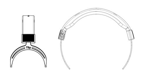 beyerdynamic head bow for T5p.2, крепёжное оголовье (#916668)
