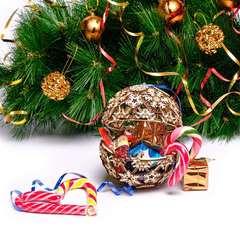 Новогодний Шар от Wood Trick - Деревянный конструктор, сборная модель, 3D пазл, новый год, украшение на елку