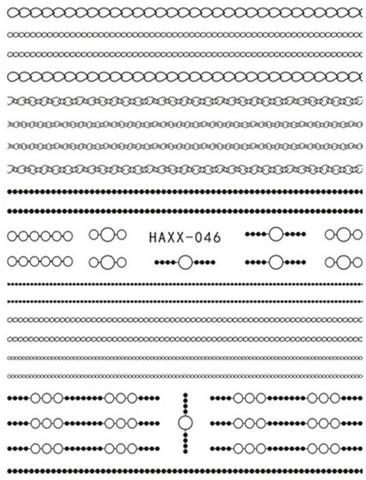 Наклейка силиконовая HAXX-46