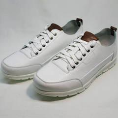 Мужские кроссовки сникерсы Faber 193909-3 White.
