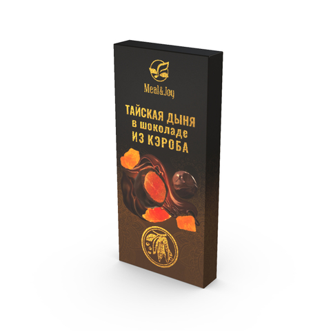 Тайская дыня в шоколаде из кэроба, 60 г