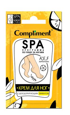 Сompliment саше Крем для ног с дезодорирующим эффектом