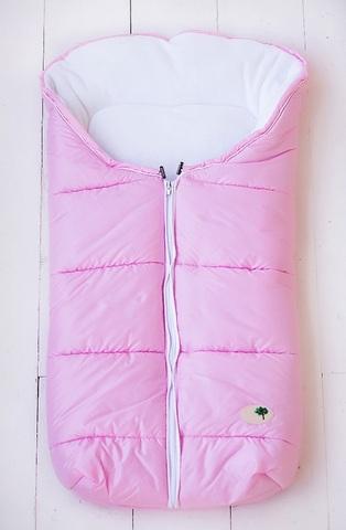 Зимний на выписку для новорождённых КВ1041 розовый