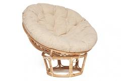 Кресло Папасан эко (PAPASAN) ECO P115-1/SP STD (без подушки) — Natural (натуральный)