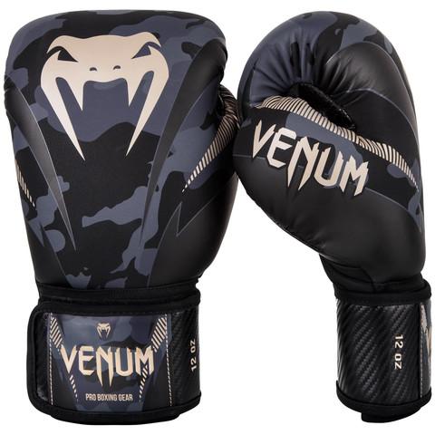 Перчатки для бокса Venum Impact Boxing Gloves Dark Camo/Sand