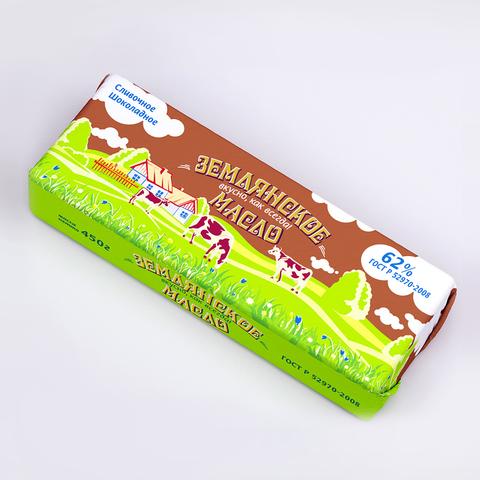 Масло Землянское шоколадное 69% весовое  ИП