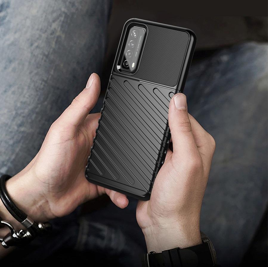 Защитный противоударный чехол на Huawei P Smart с 2021 года, серия Onyx от Caseport