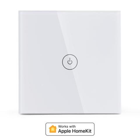 Выключатель Meross Умный выключатель плоский Meross Smart WiFi Wall Switch -Touch Button