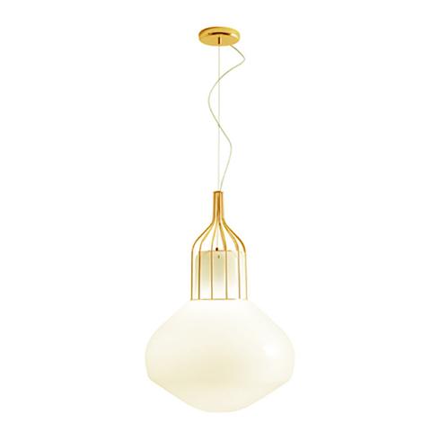 Подвесной светильник копия AEROSTAT by Fabbian (золотой)