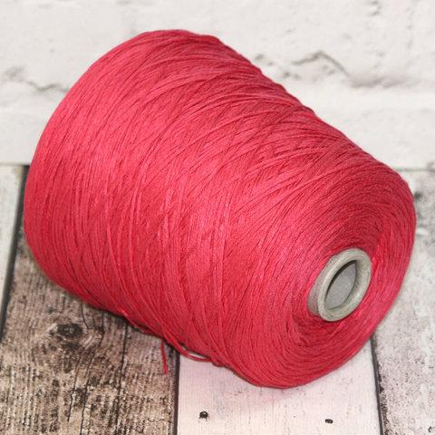 Хлопок 100% шнурок CASA DELL FILATO  ярко-розовый