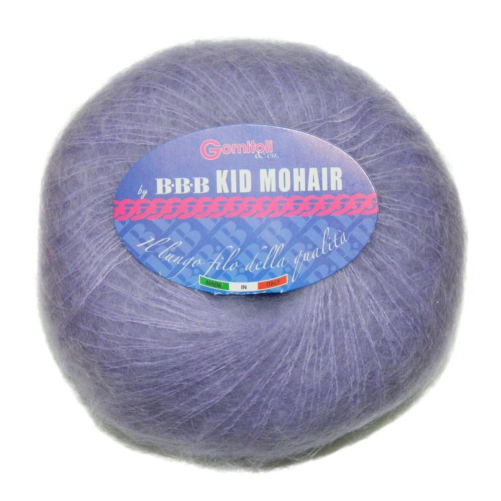 Пряжа BBB Filati Kid Mohair 0126 сирень