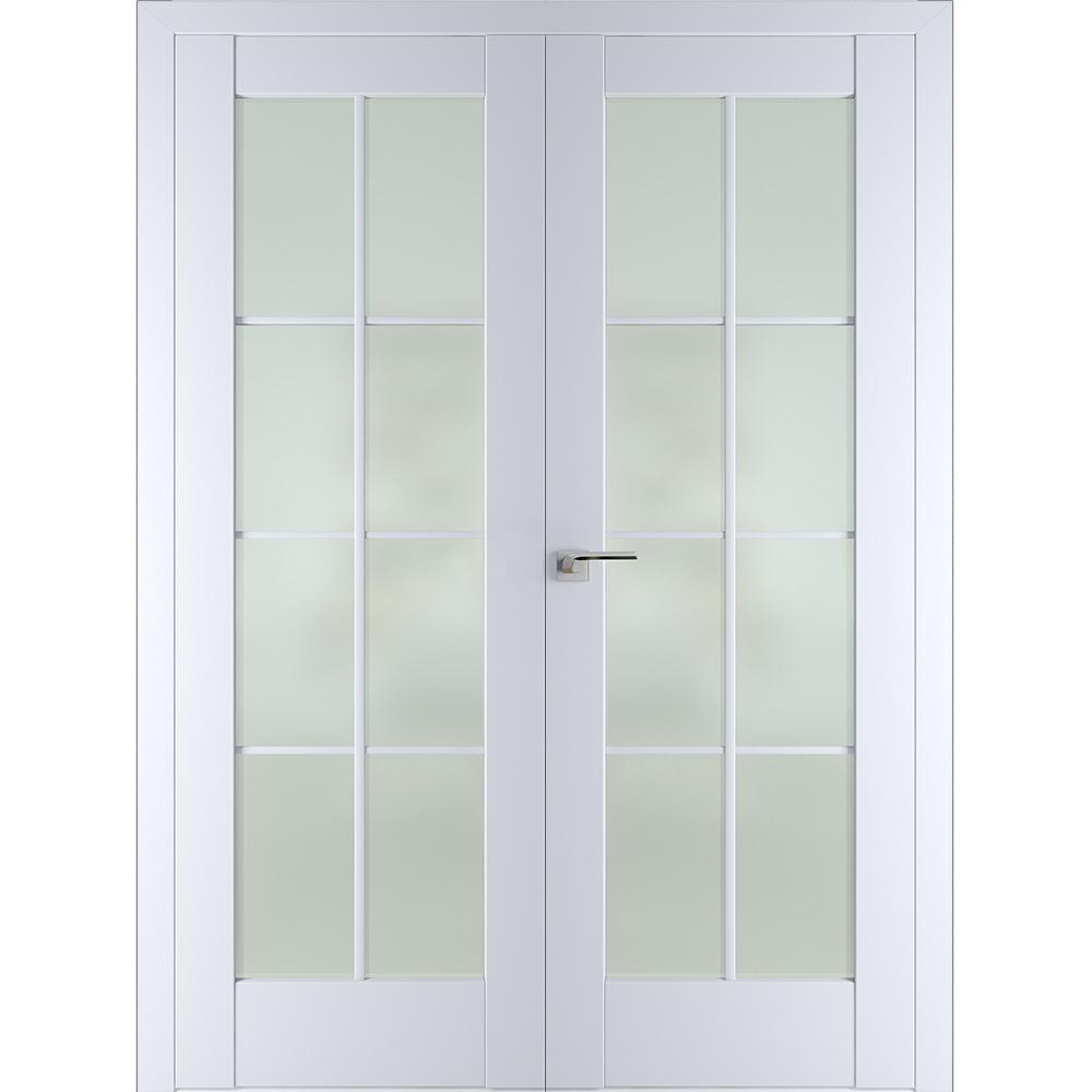 Межкомнатные двери Межкомнатная дверь экошпон Profil Doors 101U аляска распашная двустворчатая остеклённая 101U-aliaska-dvertsov-dr.jpg