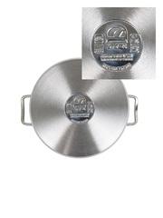 Кастрюля для индукционной плиты 4,5 литра 22 см со стеклянной крышкой DARIIS SENSO из нержавеющей стали Турция HUR-S-13043