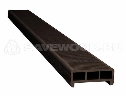 Перила для ограждений или лестниц из ДПК Темно-коричневый