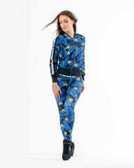 Женская кофта Nebbia Ocean Power sporty jacket 562 SQ.Blue