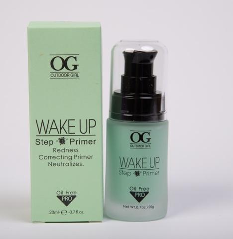 OG-FS5280 Праймер-основа для макияжа Mineral Primer, Green зеленая, в стеклянной тубе