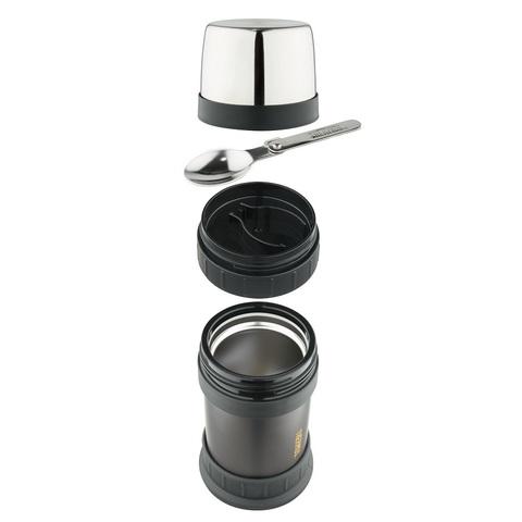 Термос для еды Thermos 2345GM Stainless Steel (0,47 литра), черный