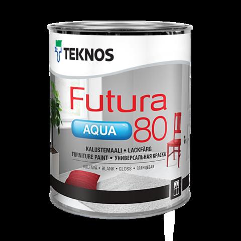 TEKNOS FUTURA AQUA 80/Текнос Футура Аква 80 Глянцевая универсальная краска