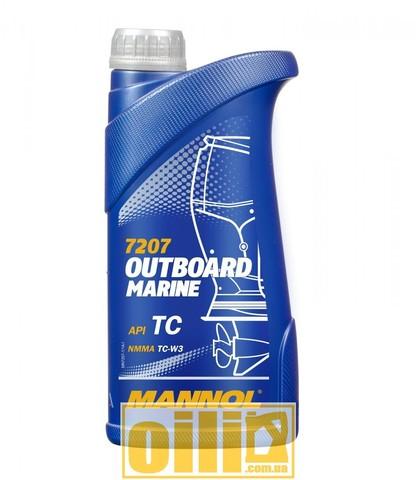 Mannol 7207 OUTBOARD MARINE API TC 1л